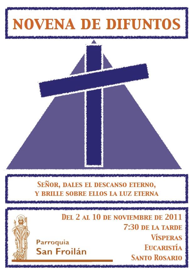 NOVENA DE DIFUNTOS | PARROQUIA DE SAN FROILAN. LUGO.