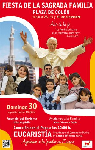 FIESTA DE LA SAGRADA FAMILIA 2012