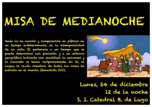 MISA DE MEDIANOCHE 2012
