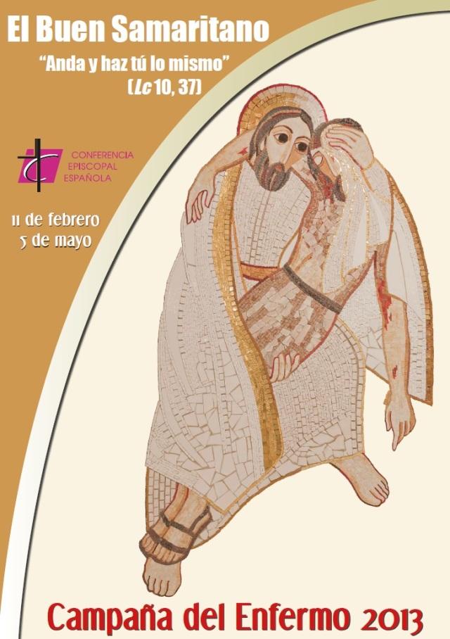 Cartel Jornada del Enfermo 2013