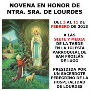 Novena-Lourdes