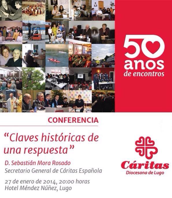 50º AÑOS CARITAS LUGO