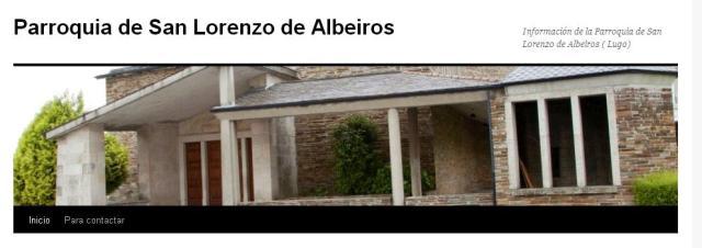 Parroquia San Lorenzo de Albeiros