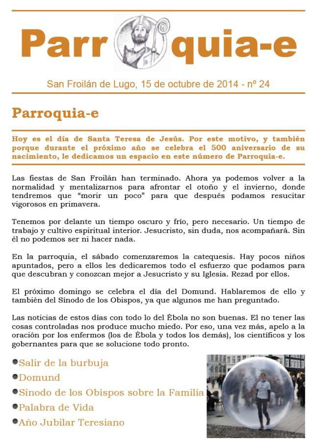 P@rroquia-e nº 24