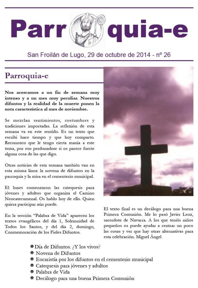 P@rroquia-e nº 26