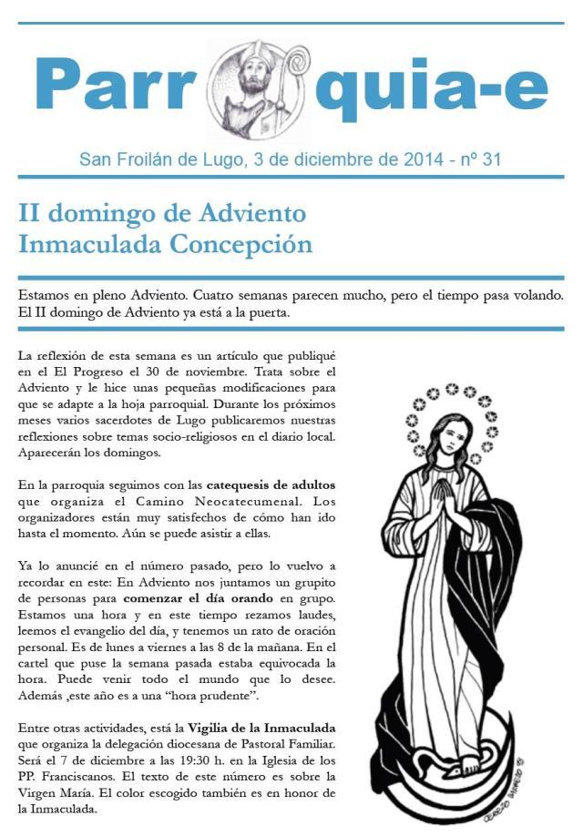Parroquia-e nº 31