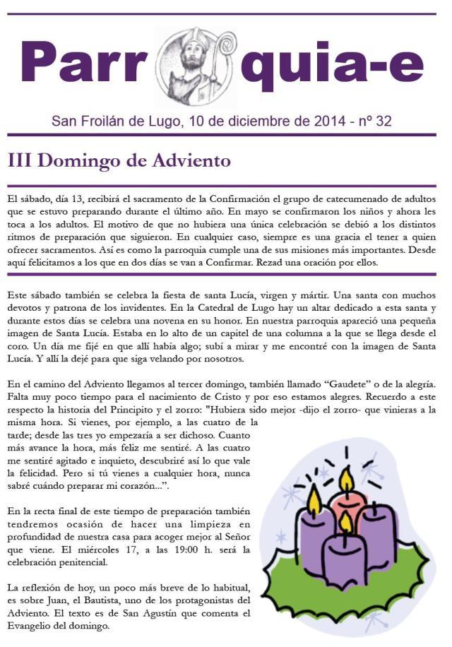 Parroquia-e nº 32