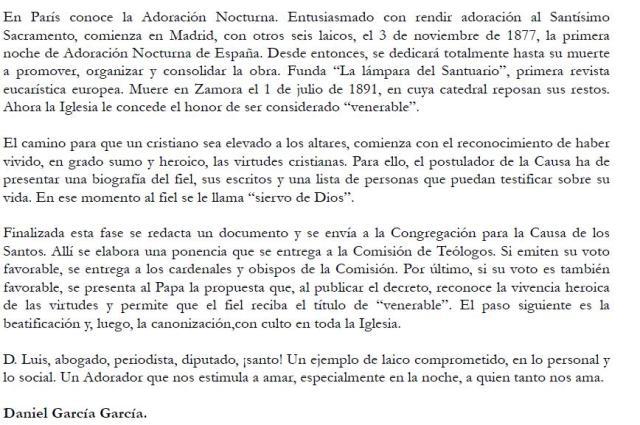 Venerable Luis de Trelles 2