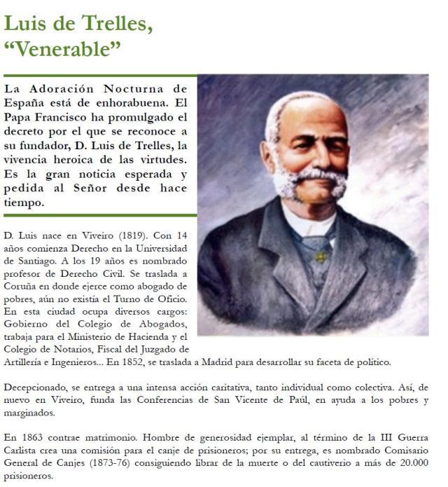 Venerable Luis de Trelles