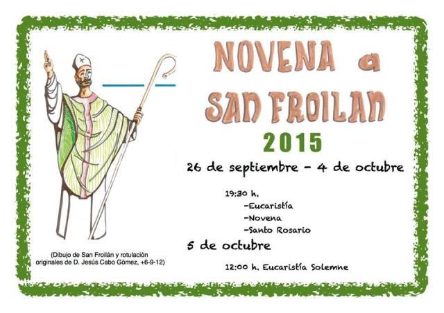 Novena a San Froilán 2015